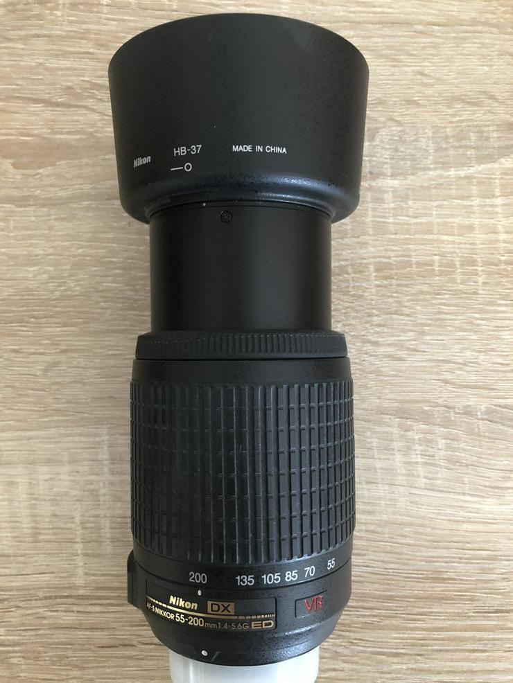 Bild 5: Nikon DLSR D5300 mit viel zubehör
