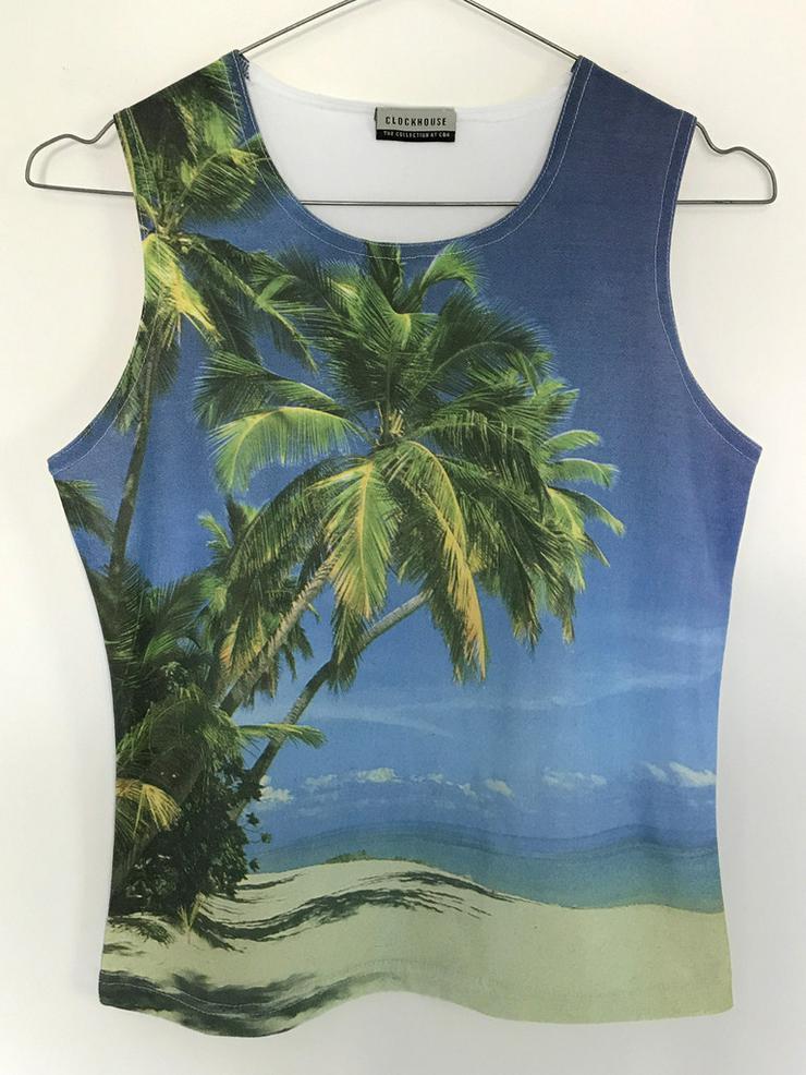 Sommer T-Shirt Palmen
