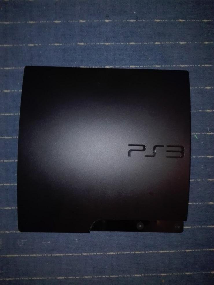 Bild 3: PS3 slim + 2 Controller + Spiele (120€ VB)