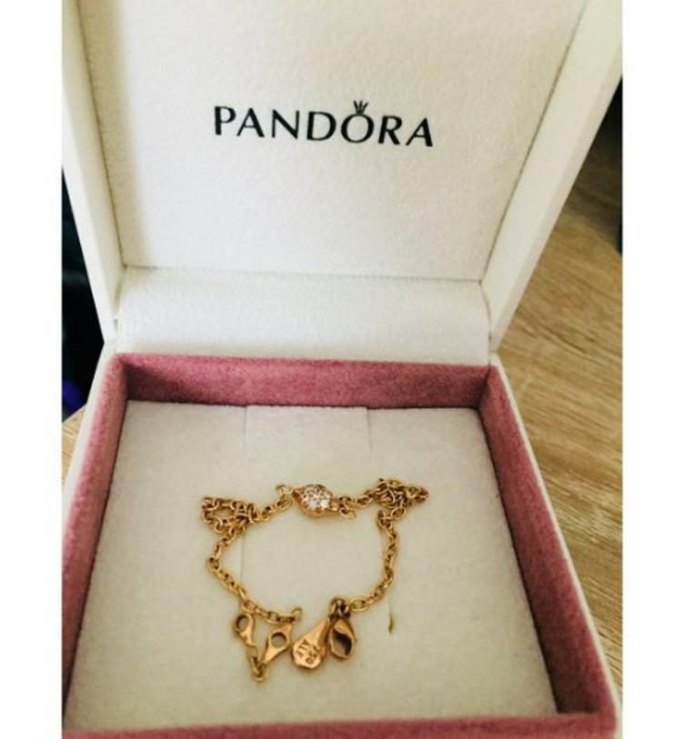 Pandora Armband, Gold (750) mit Brillanten