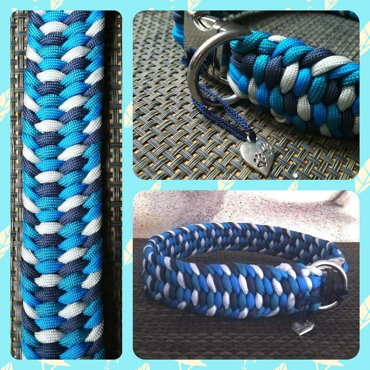Leinen und Halsbänder aus PPM Seil und paracord