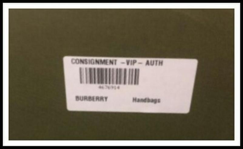 Schicke Tasche von Burberry, Neuwertig