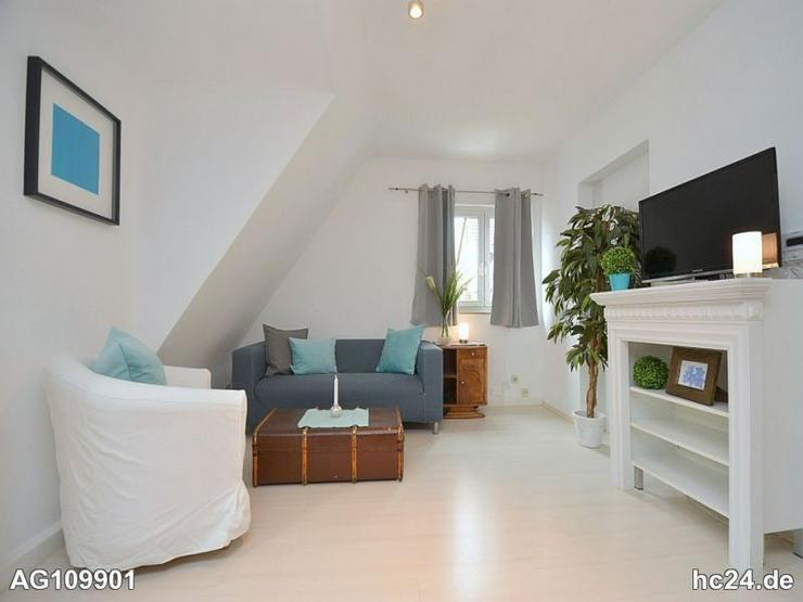 Schön möblierte Wohnung mit Balkon in Stuttgart Zuffenhausen - Bild 1