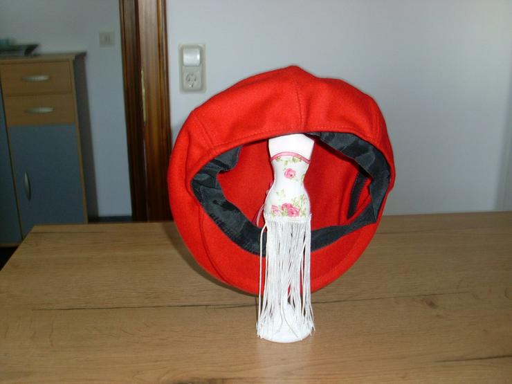 Bild 3: Flat- Caps, Schieberm Filz schwarz,rot,grau