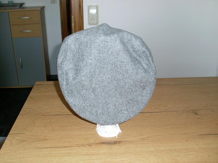 Bild 4: Flat- Caps, Schieberm Filz schwarz,rot,grau