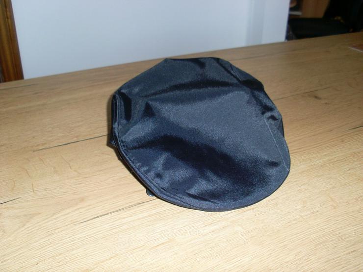 Bild 2: Schirmmütze, Cap schwarz Gr. 56 Nylon