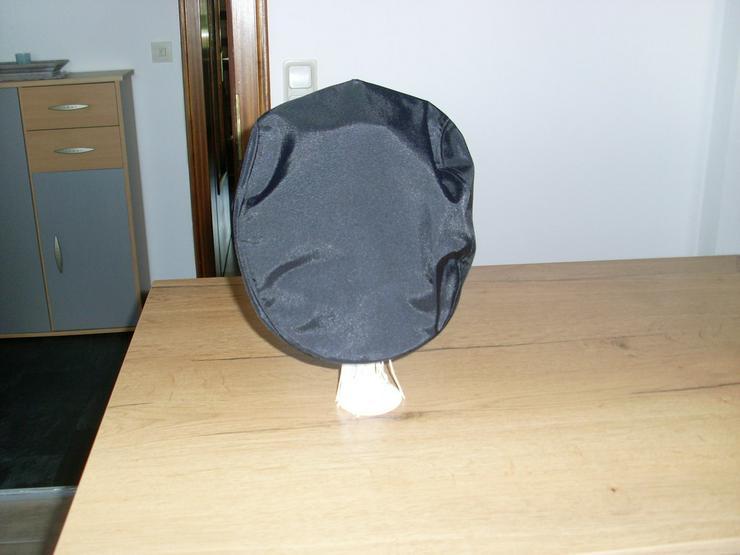 Bild 3: Schirmmütze, Cap schwarz Gr. 56 Nylon