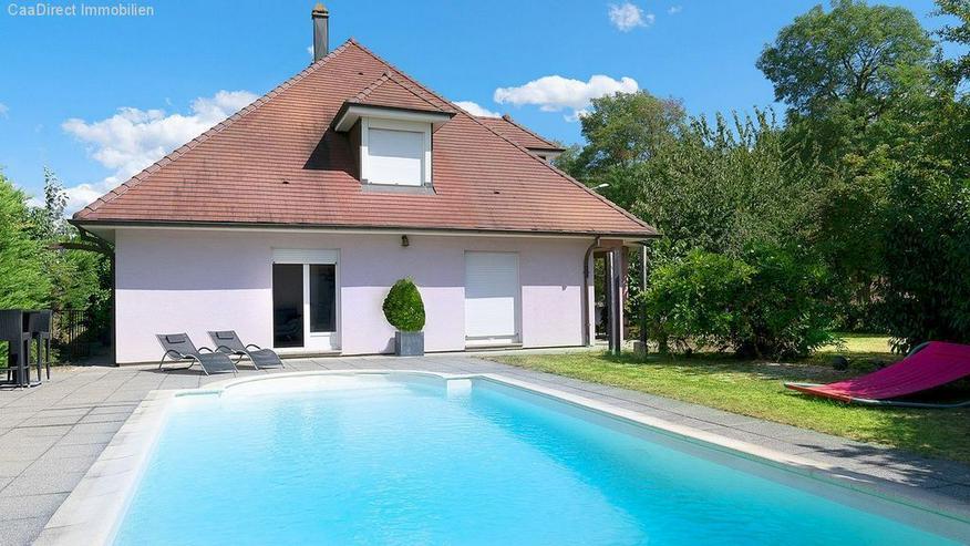 Bild 1: Grosszügiges Haus mit Pool im Elsass - 10 Minuten von Breisach am Rhein
