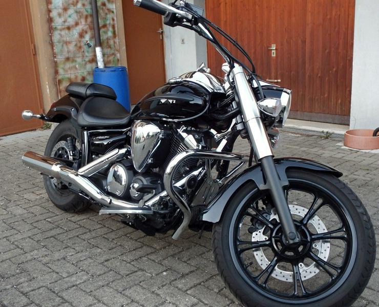 Bild 4: Yamaha XVS 950A umgebaut