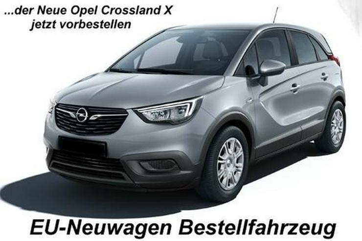 Opel Crossland X Mod. 2019 1.5 CDTI Blue Edition + Komfort Paket NEU-Bestellfahrzeug inkl. Anlieferu