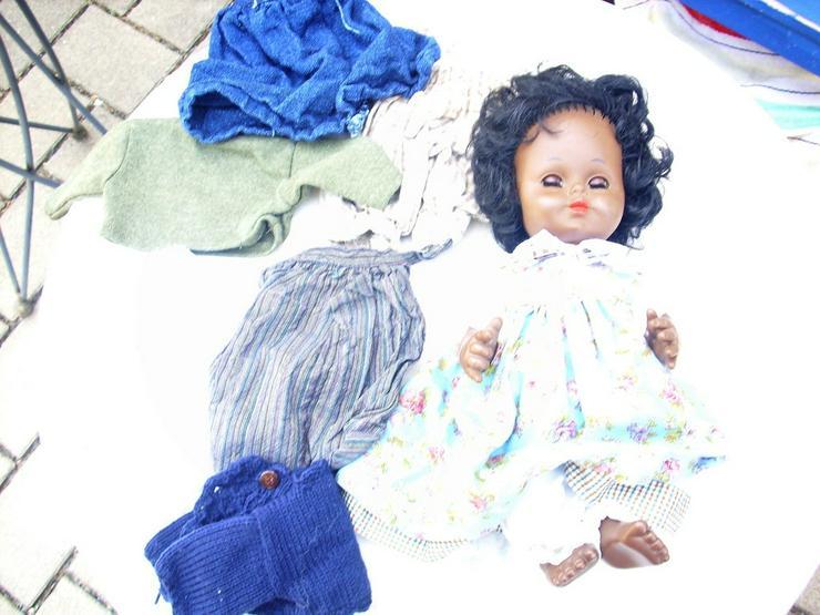 Künstlerpuppe Babypuppe Zapf 36+viel Kleidung