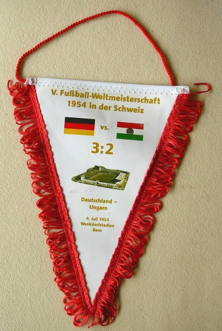 Original Wimpel der WM 1954 in Bern (S001)