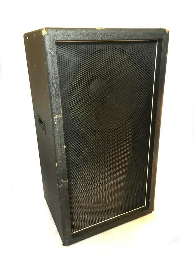 2 x 15 zoll Bassverstärker box - Bild 1