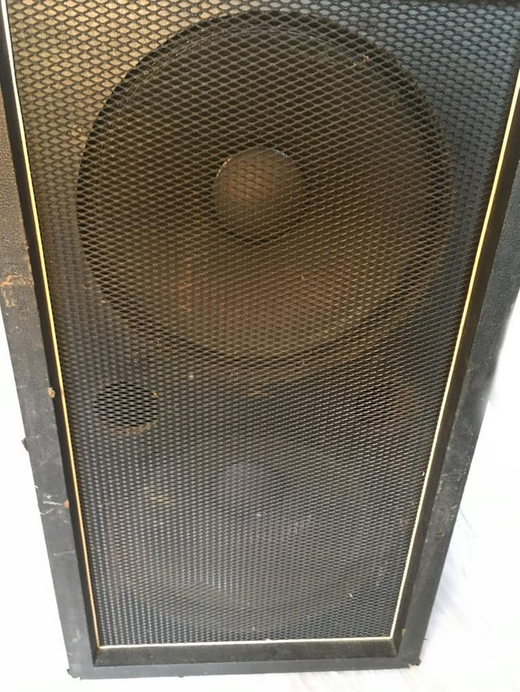 Bild 4: 2 x 15 zoll Bassverstärker box