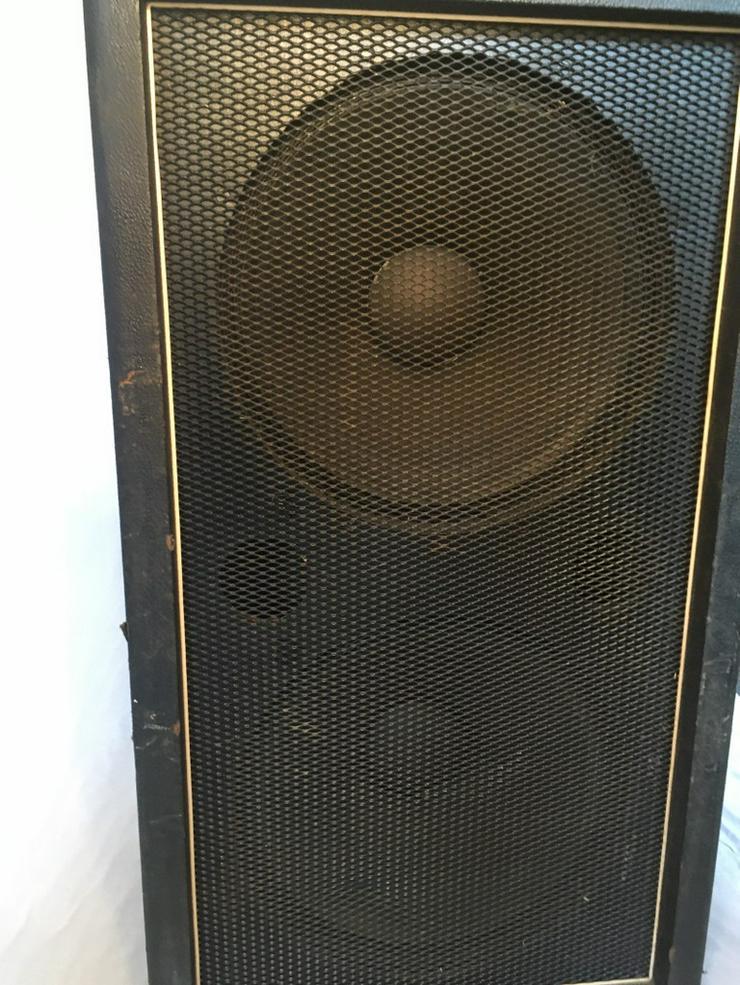 Bild 5: 2 x 15 zoll Bassverstärker box