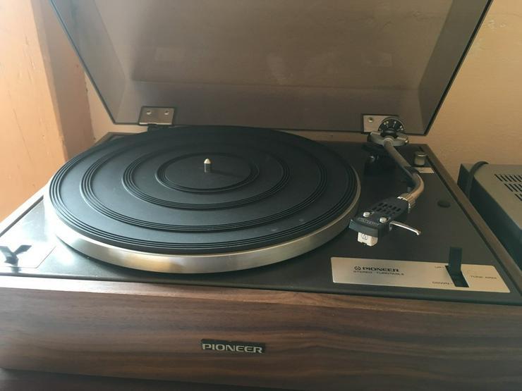 Pioneer Schaltplattenspieler Recordplayer