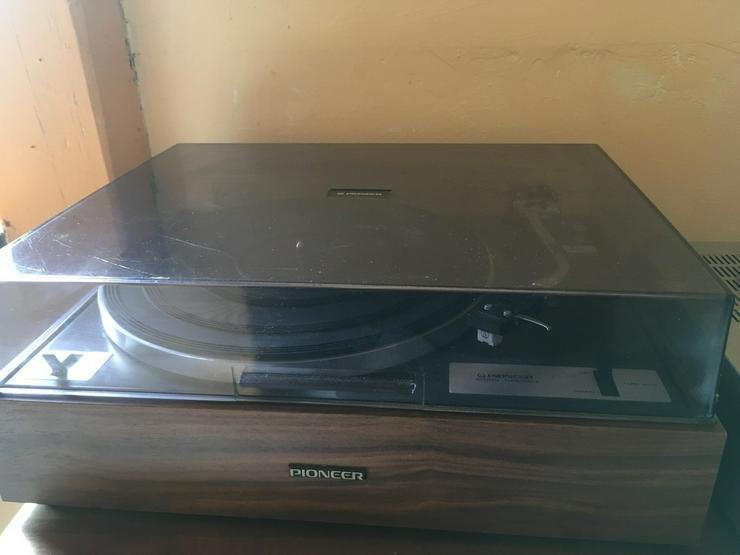 Bild 2: Pioneer Schaltplattenspieler Recordplayer
