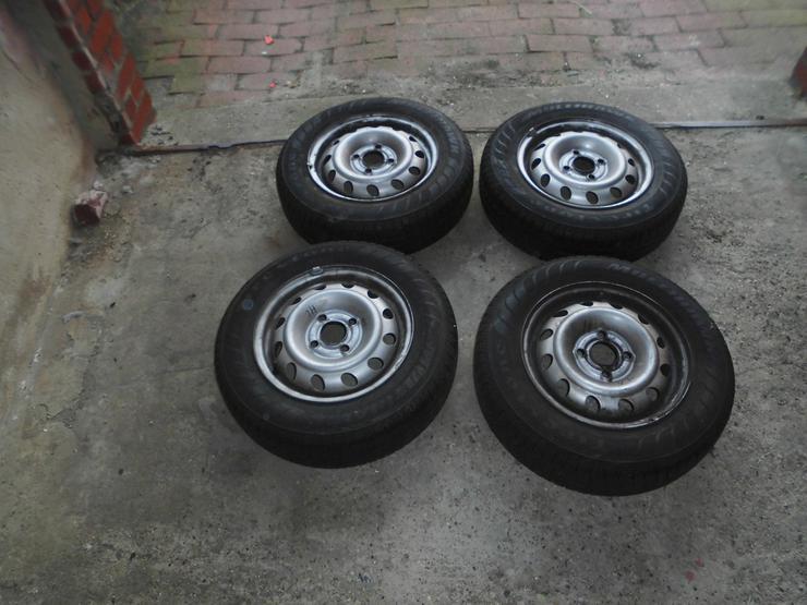PKW Kömpletträder  für einen Opel Corsa B gebr