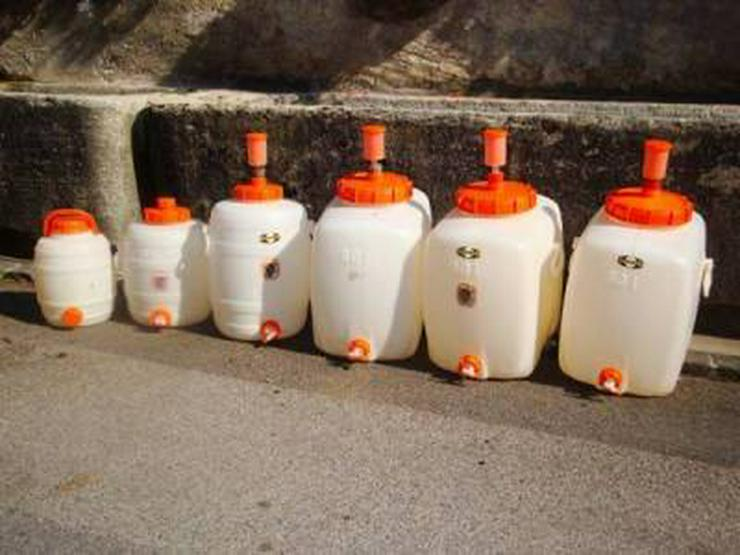 Mostfässer aus Kunststoff komplett