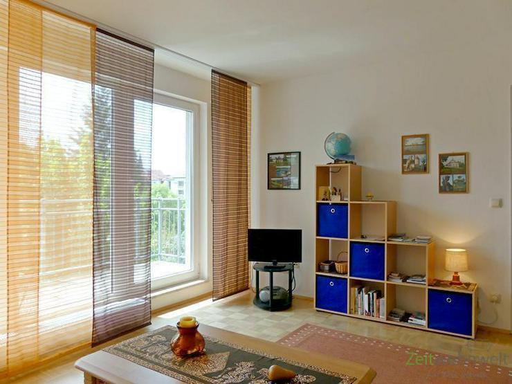 Bild 2: (EF0417_M) Dresden: Striesen-Ost, warme Sonne oder kühler Schatten? möblierte DG-Wohnung...