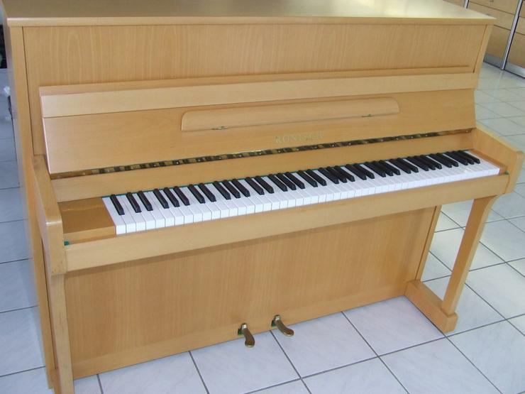 Rönisch Klavier 115 mit Konsole gebraucht