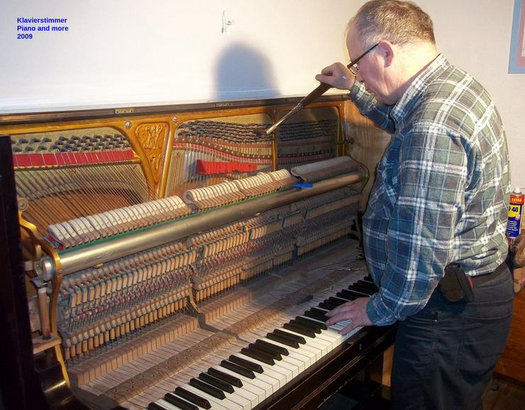 Ist Ihr Klavier verstimmt?