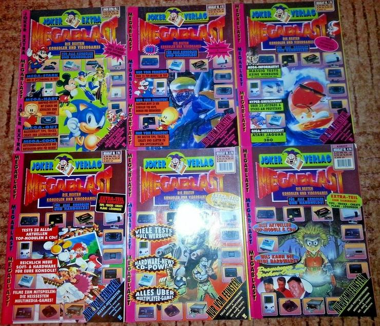 Rar - Megablast - Videospielzeitschrift - Rar
