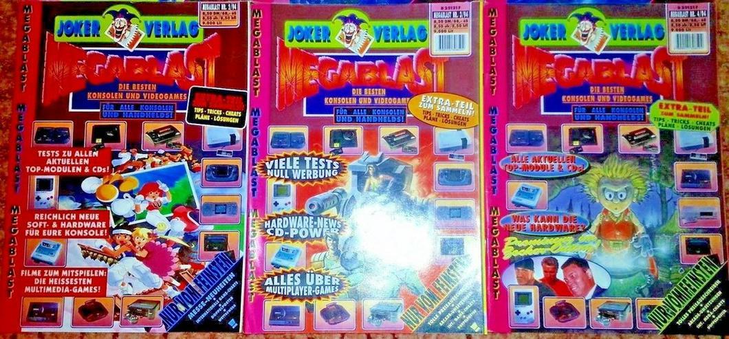 Bild 3: Rar - Megablast - Videospielzeitschrift - Rar