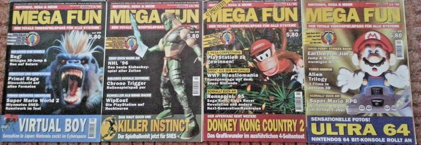 Bild 4: Retro/Kult - MEGA FUN Kompl. Ausgabe 1/95-12/95