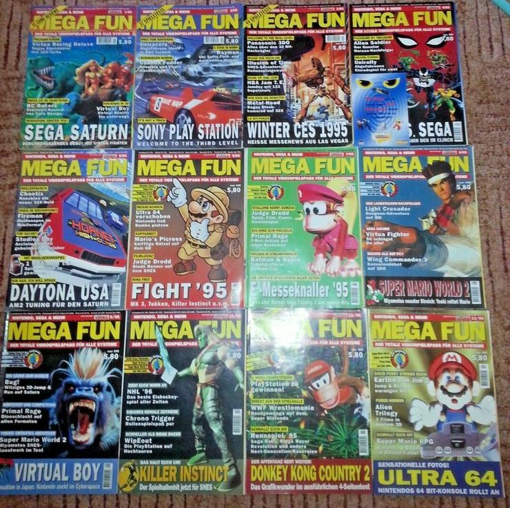 Bild 5: Retro/Kult - MEGA FUN Kompl. Ausgabe 1/95-12/95