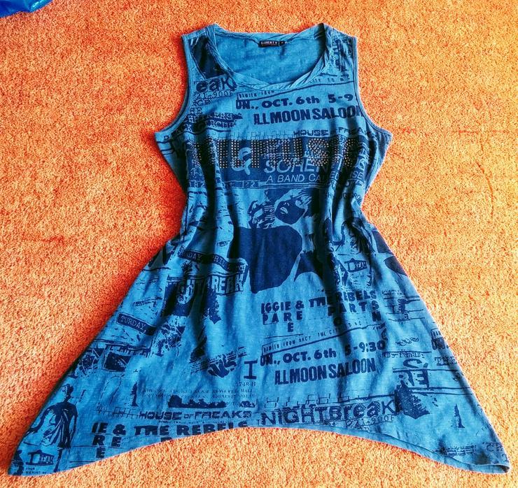 Damen Tunika Sommer Long Shirt Gr.M