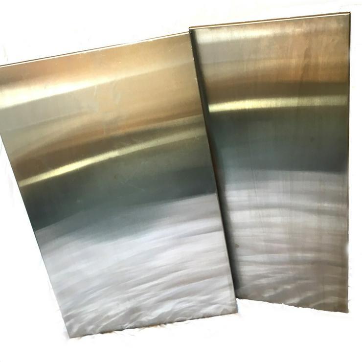 Edelmetall Magnet Tafeln - gebürstet Memory