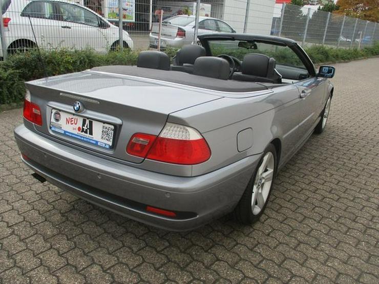 Bild 5: BMW 320 Baureihe 3 Cabrio Ci
