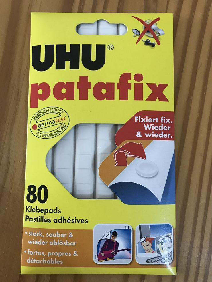 UHU Patafix Klebepads 1 Pack mit 80 Pads