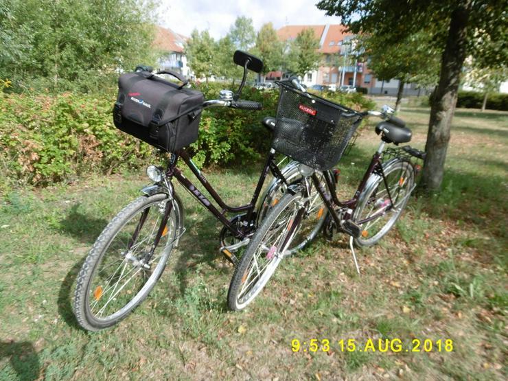 Verkaufe  2  Damen  Fahrräder
