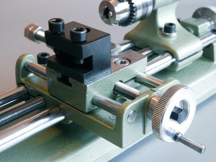 Bild 4: Drehbank Drehmaschine Emco Unimat SL