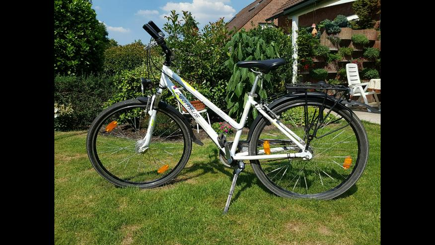 Pegasus 28 Zoll Trekkingbike weiß 7-Gang-Nabe - Mountainbikes & Trekkingräder - Bild 1