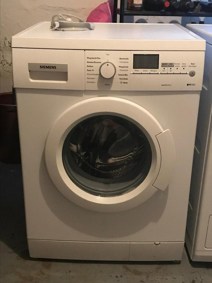 Siemens waschmaschine in mannheim waldhof baden württemberg auf
