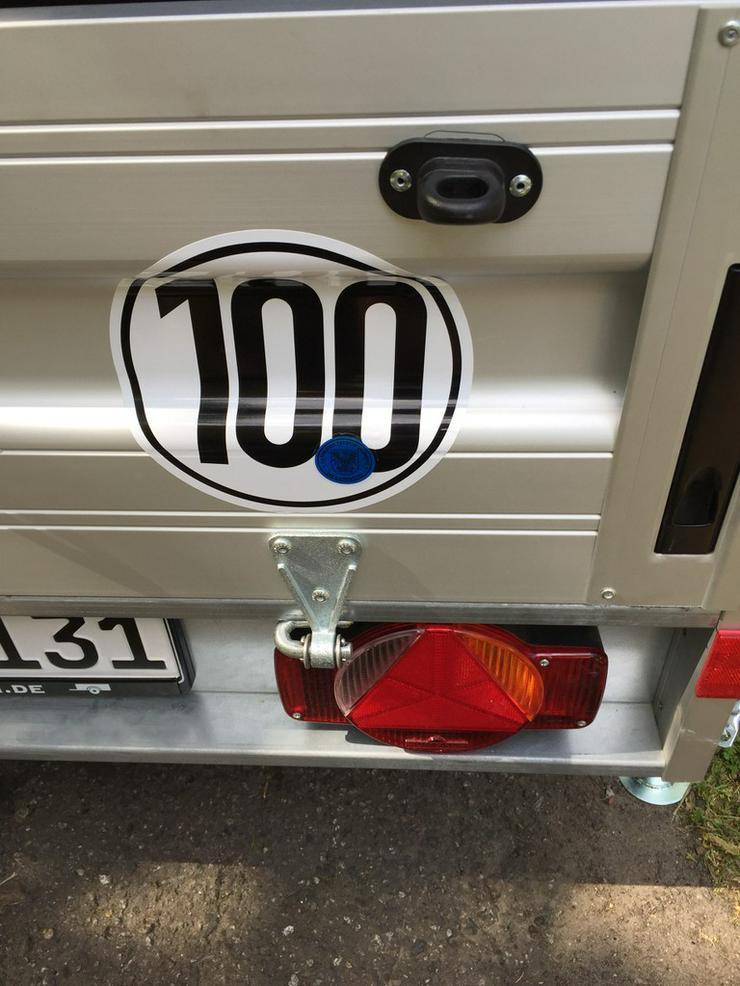 Kassel Anhänger günstig mieten leihen Plane 750 - Kastenanhänger & Kipper - Bild 1