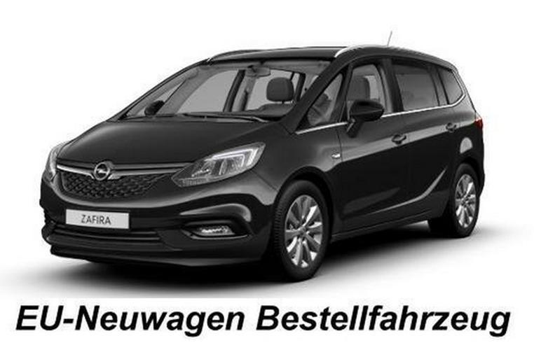 Opel Zafira Mod. 2019 1.6 Blue Innovation Autom. 7-Sitzer NEU-Bestellfahrzeug inkl. Anlieferung (D) - Zafira - Bild 1