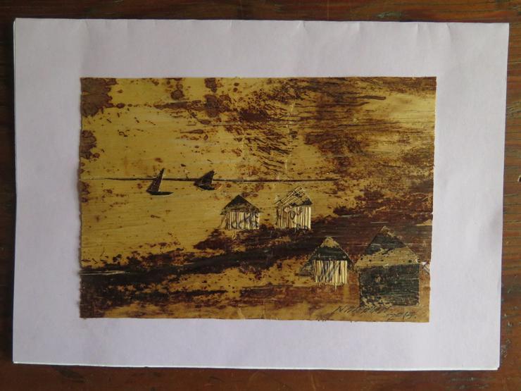 Baumrinden-Bilder aus Zansibar