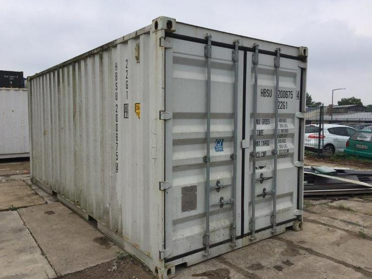 Seecontainer verschiedene Größen