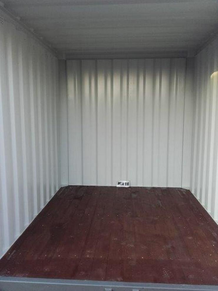 Bild 3: Lagercontainer verschiedene Größen