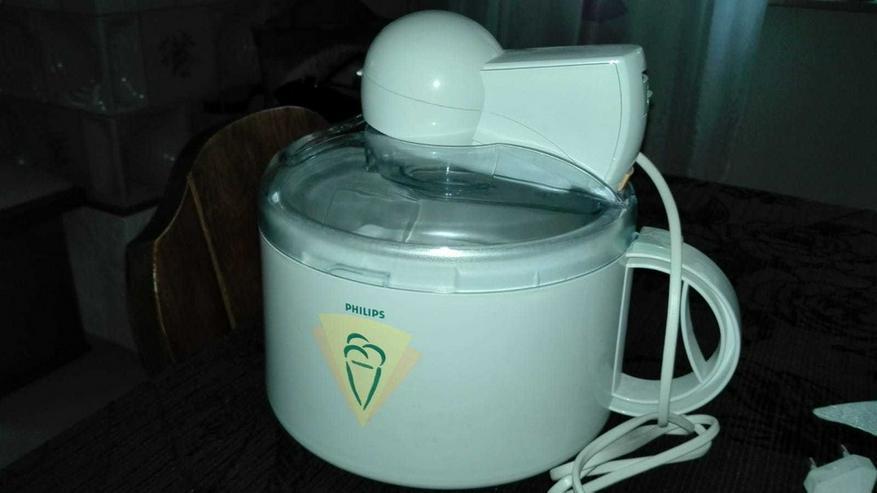 Neue Eismaschine Fabr. PHILIPS zu verkaufen