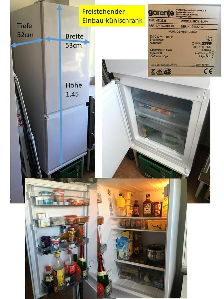 Verkaufe neuwertigen Kühl-Gefrierschrank