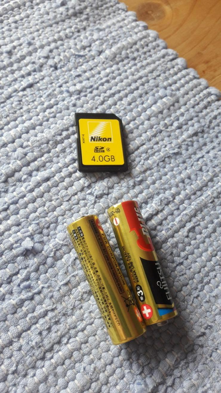 Bild 3: Nikon Coolpix L25 Digitalkamera in silber