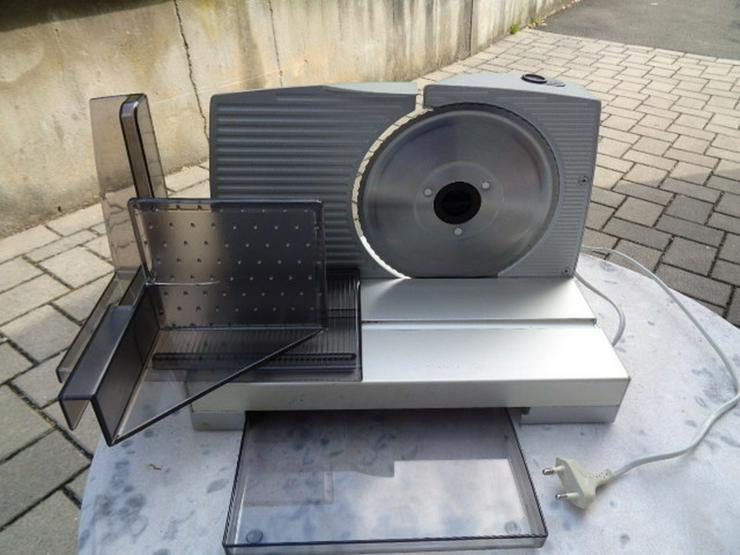 Allesschneider Brotschneidemaschine+Resthalter
