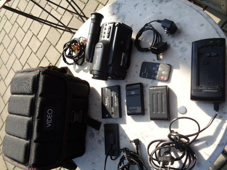 Super Video Kamera Recorder+Tasche+Zubehör