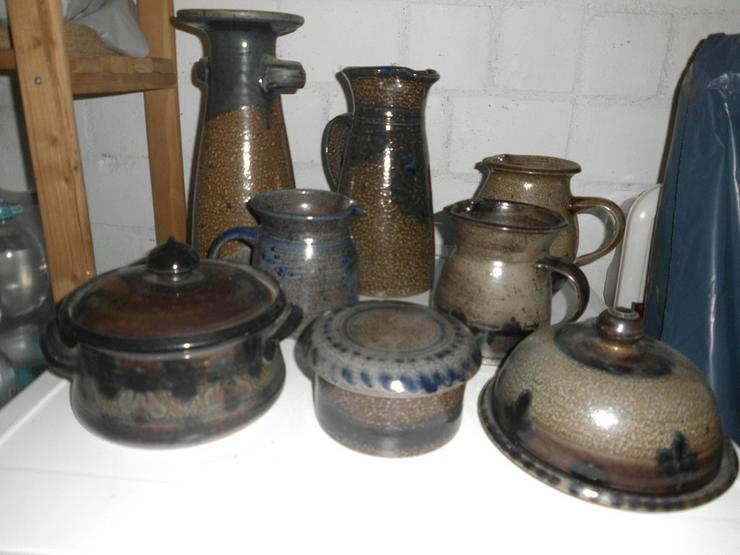 Diverse Keramik-Vasen, Krüge etc.