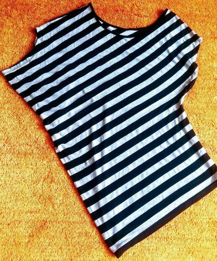 Damen Shirt Jersey gestreift Gr.S/M